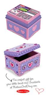 Melissa And Doug Decorate Your Own Jewelry Box DecorateYourOwn Box Kids can add their creative touch to this 15