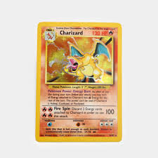 Charizard Holo Unlimited Edition Base Set Pokémon Card