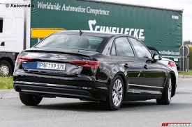 audi a4 2015 spy. Plain Spy 2016 Audi A4 B9 Rear Spy Shot And 2015 Spy