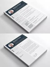 Resume Template Ai Eps Psd Ms Word Easy Customization Resume