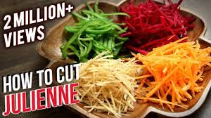 How To Julienne Vegetables Knife Skills The Bombay Chef Varun Inamdar Basic Cooking