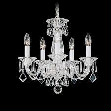 schonbek allegro 5 light mini chandelier mini chandeliers chandeliers