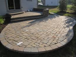 how much does a brick paver patio cost per square foot designs