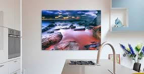wallart on coastal wall art melbourne with online digital glass screen large photo printing picture prints
