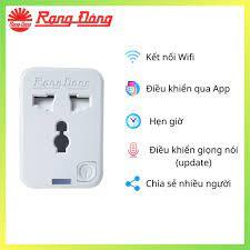 Ổ Cắm Wifi thông minh RẠNG ĐÔNG điều khiển từ xa tại Hà Nội