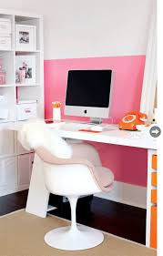 pink and white furniture. a modern pink home office and bedroom white furniture