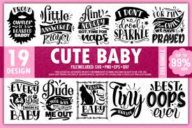 Plain doormat (these are a reader favorite!) download the svg file and upload to cricut design space. Cute Baby Bundle Graphic By Printablesvg Creative Fabrica