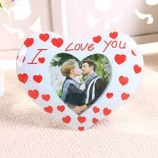 crystal gl love theme i love you table decor wedding photo frames for home decor gifts