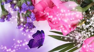 Purple Flowers Backgrounds Pink And Purple Flower Backgrounds 59 Pictures