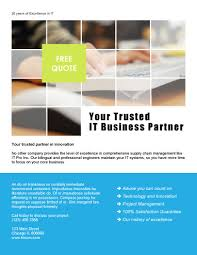 marketing flyer templates in word for any business yourtrustedpartner featured template