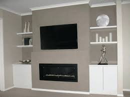 fireplace wall mount above