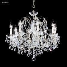 james r moder 40288 regalia 8 light crystal chandelier