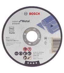 <b>Круг отрезной по</b> металлу Bosch (2608603396) 125х22х1 мм ...
