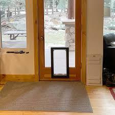 utah pet access dog door in glass