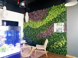 artificial green walls create peace