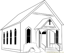 Small Picture Osterville Baptist Church Coloring Page Free Church Coloring