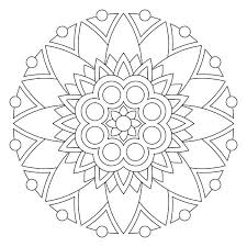 Free Mandala Coloring Pages Also Free Printable Man Ideal Free