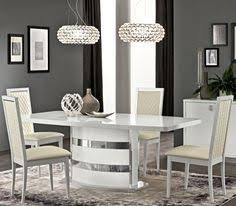little home roma white high gloss extendable dining table 839 00