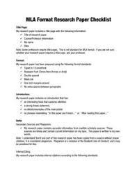 image result for mla format template literary world format research papers mla paper checklist college template for