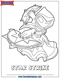 Small Picture Skylanders Swap Force Magic Series1 Star Strike Coloring Page H