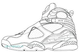 Jordan Shoes Coloring Sheets Collection Of Coloring Pages Of Air