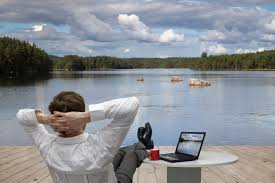 what makes for a dream job here s what the evidence says lake lake on laptop