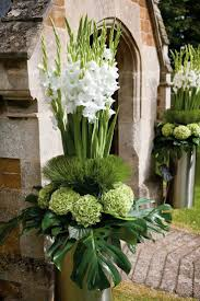 Modern White Wedding Pictures (BridesMagazine.co.uk). Large Floral  ArrangementsWedding ...