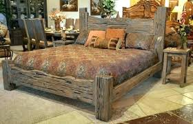 rustic bed frame – komsan996.info