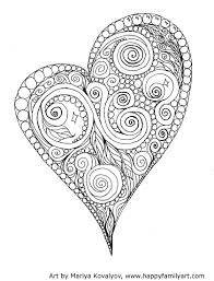 Valentine2medium Coloriage Colorier Et Cole
