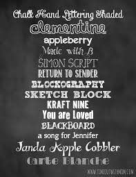 chalkboard fonts free back to school sign template and tutorial
