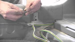 trailer wiring harness installation honda cr v