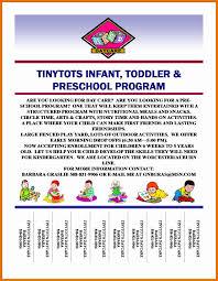 Samples Of Daycare Flyers 9 10 Child Care Flyers Samples Juliasrestaurantnj Com