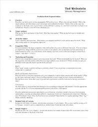 Nonfiction Book Proposal Sample Unique Scrivener Vs Novel Parts