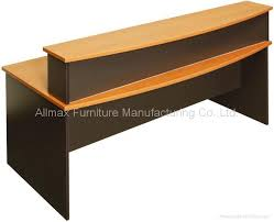 product image bow front reception counter office