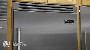 36 Refrigerators Viking 36 Bottom Freezer Refrigerator Vcbb5362rss Overview Youtube