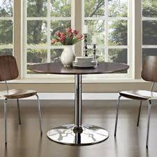 modway rostrum dining table walnut