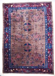 6776 antique art deco chinese rug 10 0 x 14 3