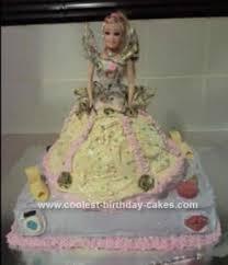 Coolest Fancy Dress Belle Birthday Cake