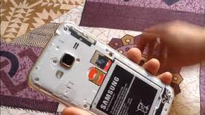 Samsung J3 2016 - How to insert two Sim card and SD card - YouTube