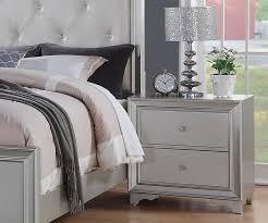 allure furniture. Allure Silver Finish Night Stand Furniture E