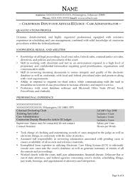Case Administrator Resume Sample - After-1