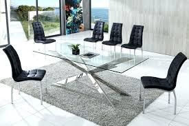modern glass dining room tables glass dining room tables cool dining room ideas exquisite contemporary glass