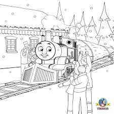Thomas Thomas The Tank Colouring Pages