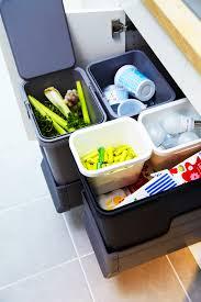 Kitchen Waste Bin Door Mounted Rationell Waste Sorting Bins Ikea Kitchen Storage Pinterest