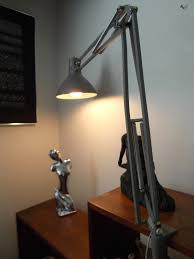 desk lamp desk lamp clamp base with vintage luxo gray adjule swing arm drafting and