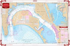 San Diego And Approaches Navigation Chart 80