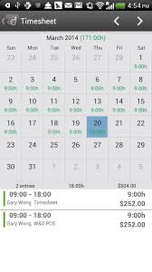 timesheet hours timesheet paid android apps on google play