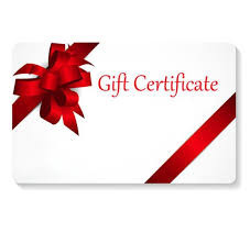 Holiday Gift Certificate Gift 50 Dollars Holiday Gift Certificate For Others Etsy