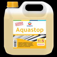 <b>Грунт</b> - влагоизолятор <b>укрепляющий Eskaro Aquastop</b> Stepler ...