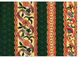 Cotton Quilt Fabric Jasmine Border Stripe Green Border Print ... & Cotton Quilt Fabric Jasmine Border Stripe Green Border Print Floral -  product images of Adamdwight.com